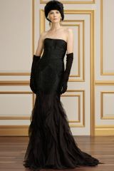 Collection Apparel Beaded Silk Bernadine Gown - Lyst