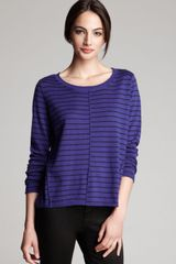 Eileen Fisher Stripe Box Top Bloomingdales Exclusive - Lyst