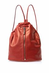 Elizabeth And James Leather Backpack - Lyst