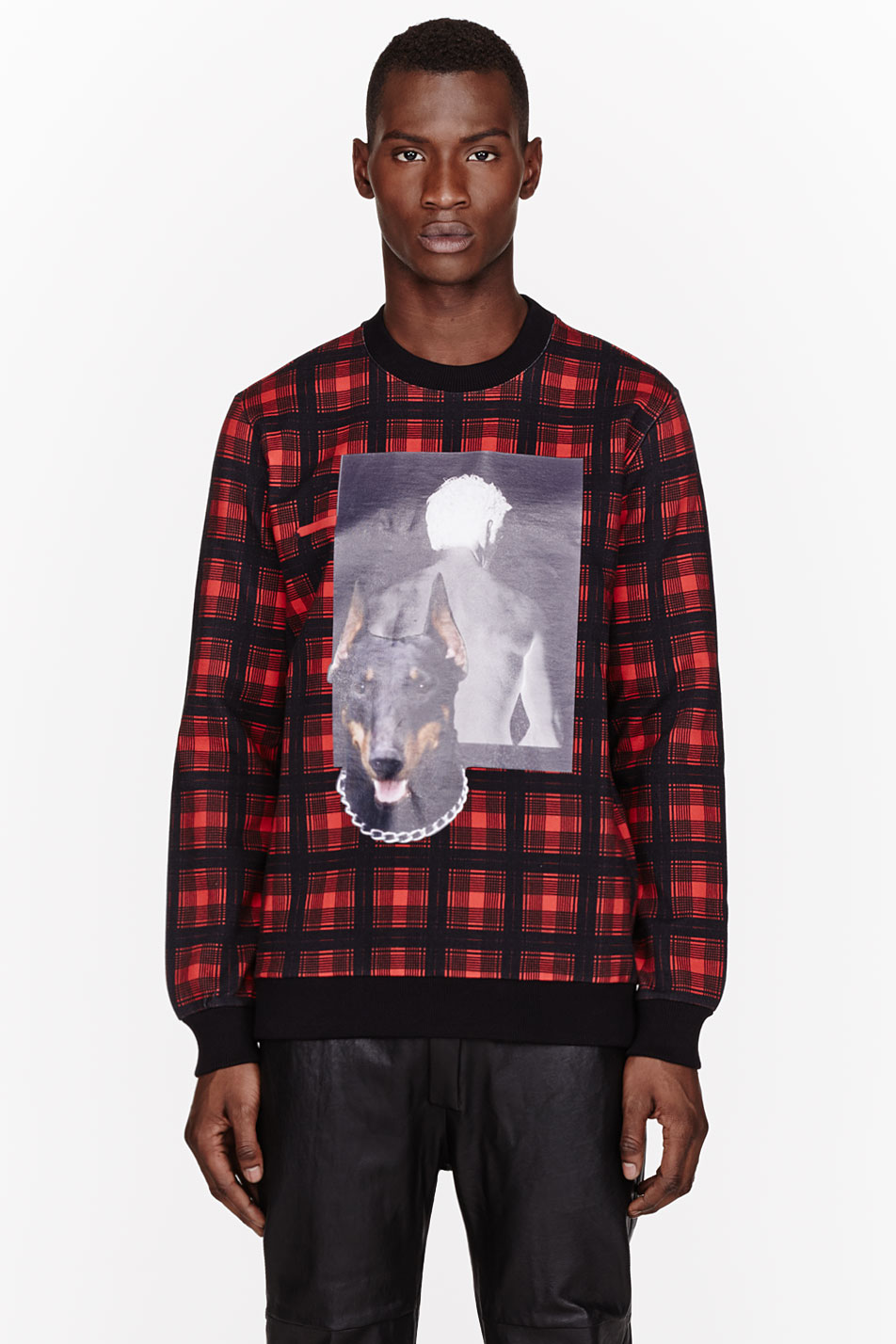 Givenchy Man And Dog Print T Shirt In Red For Men Lyst
