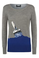 Markus Lupfer Work in Progress Sequin Jumper - Lyst
