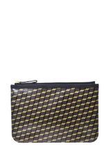 Pierre Hardy Cubeprint Coated Canvas Pouch - Lyst
