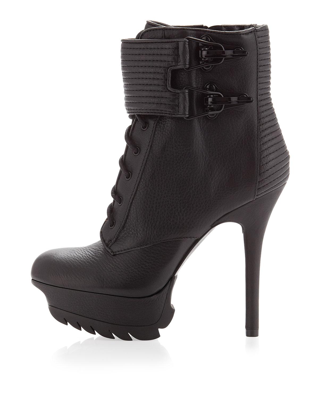 65419a3bd2378 Lyst - Sam Edelman Ridge Wired Boots - Black in Black