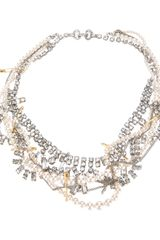 Tom Binns Pearl and Chain Necklace - Lyst