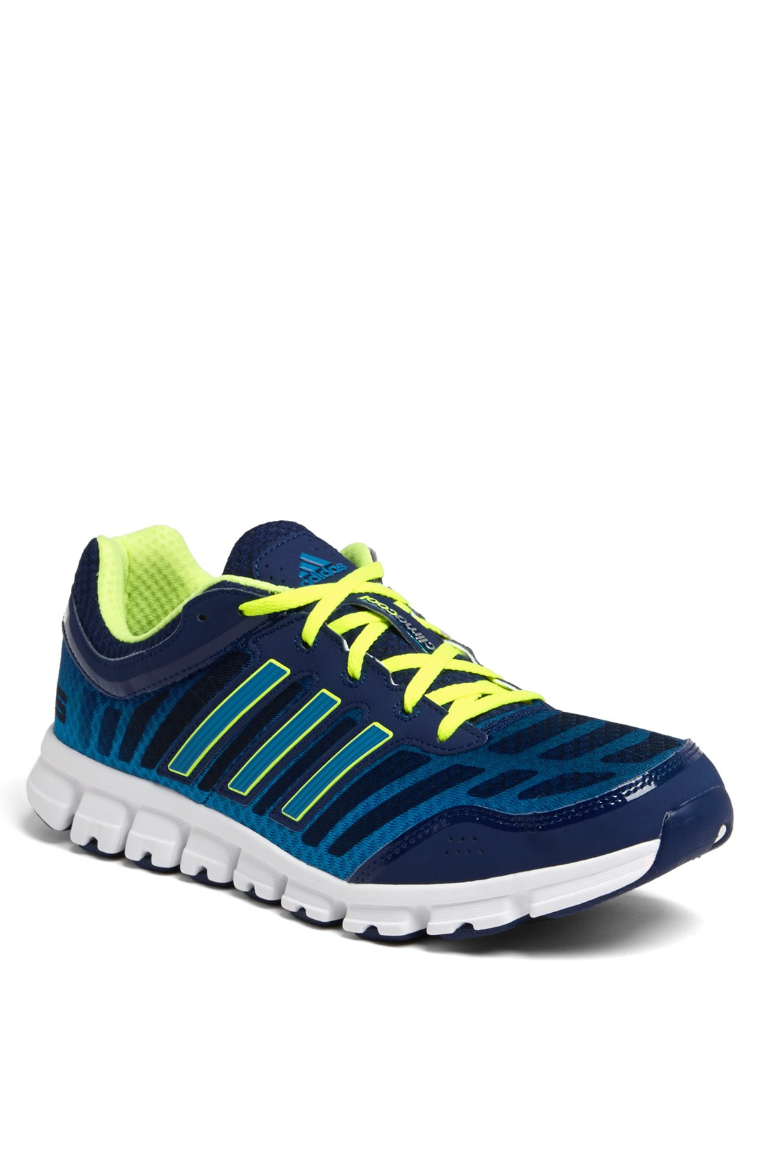 adidas climacool aerate 2 running shoe in blue for men. Black Bedroom Furniture Sets. Home Design Ideas