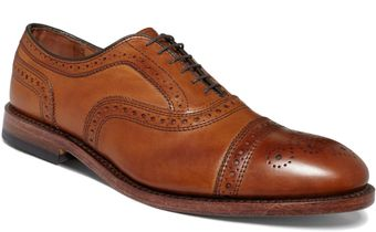 Allen Edmonds Strand Captoe Shoes - Lyst