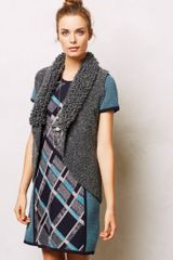Anthropologie Boucle Sweater Vest - Lyst