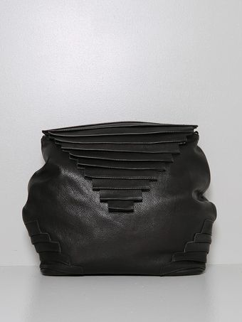Collina Strada Alea Duo Bag Leather Black - Lyst