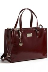 DKNY Hudson Leather Tote Bag - Lyst