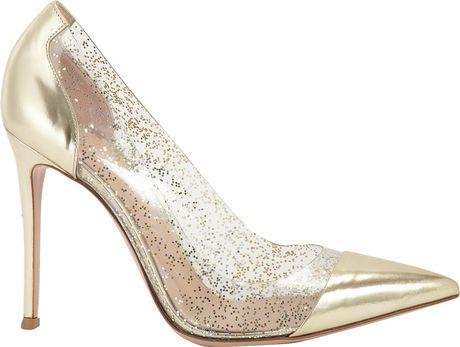 Glitter Pointe Glitter Pointed Toe Pump