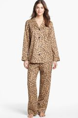 Lauren by Ralph Lauren Sateen Pajamas - Lyst