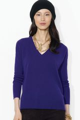 Lauren by Ralph Lauren Drop Shoulder Cashmere Sweater - Lyst