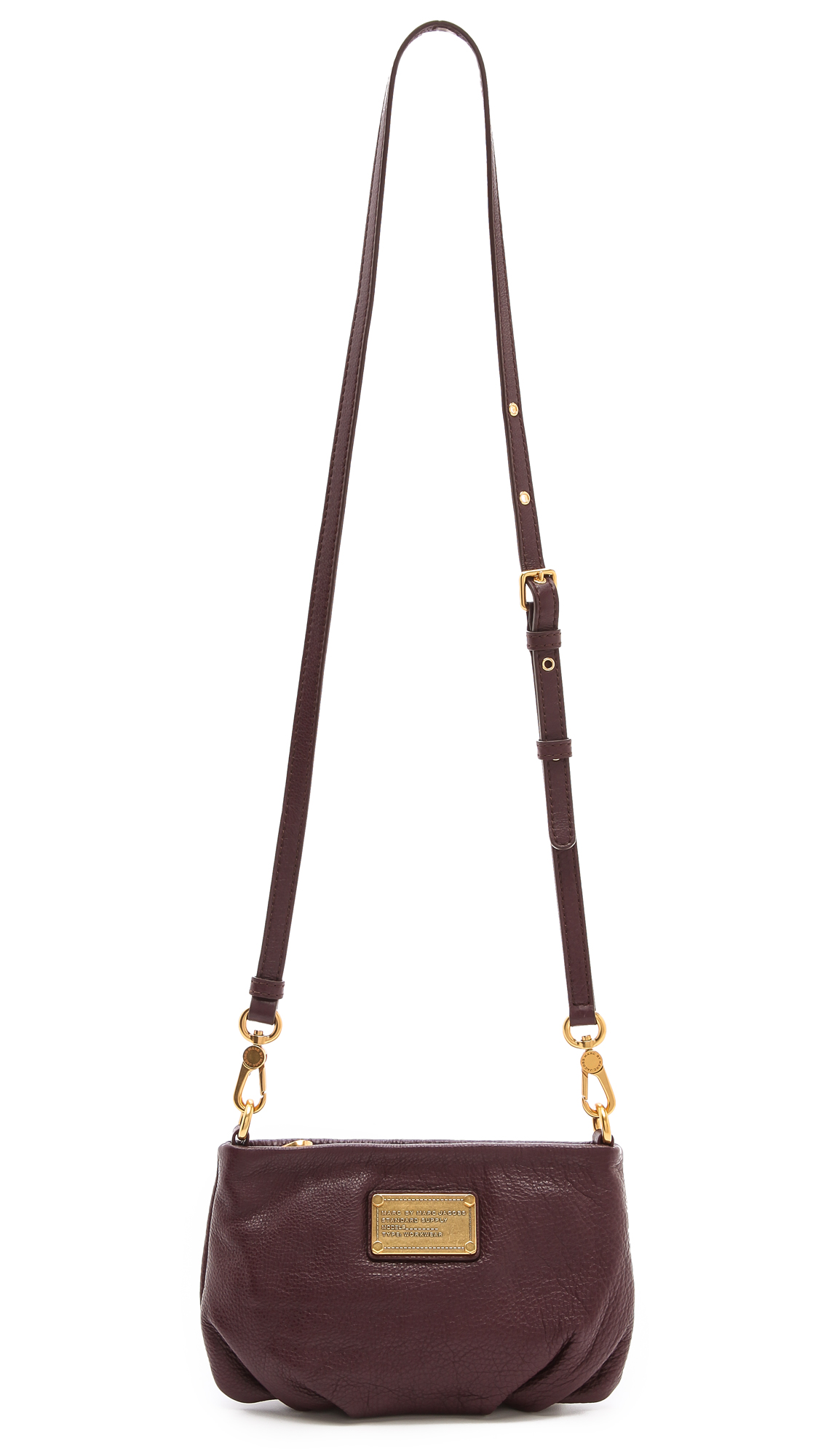 b46d8fc68aef1 Lyst - Marc By Marc Jacobs Classic Q Percy Cross Body Bag in Brown
