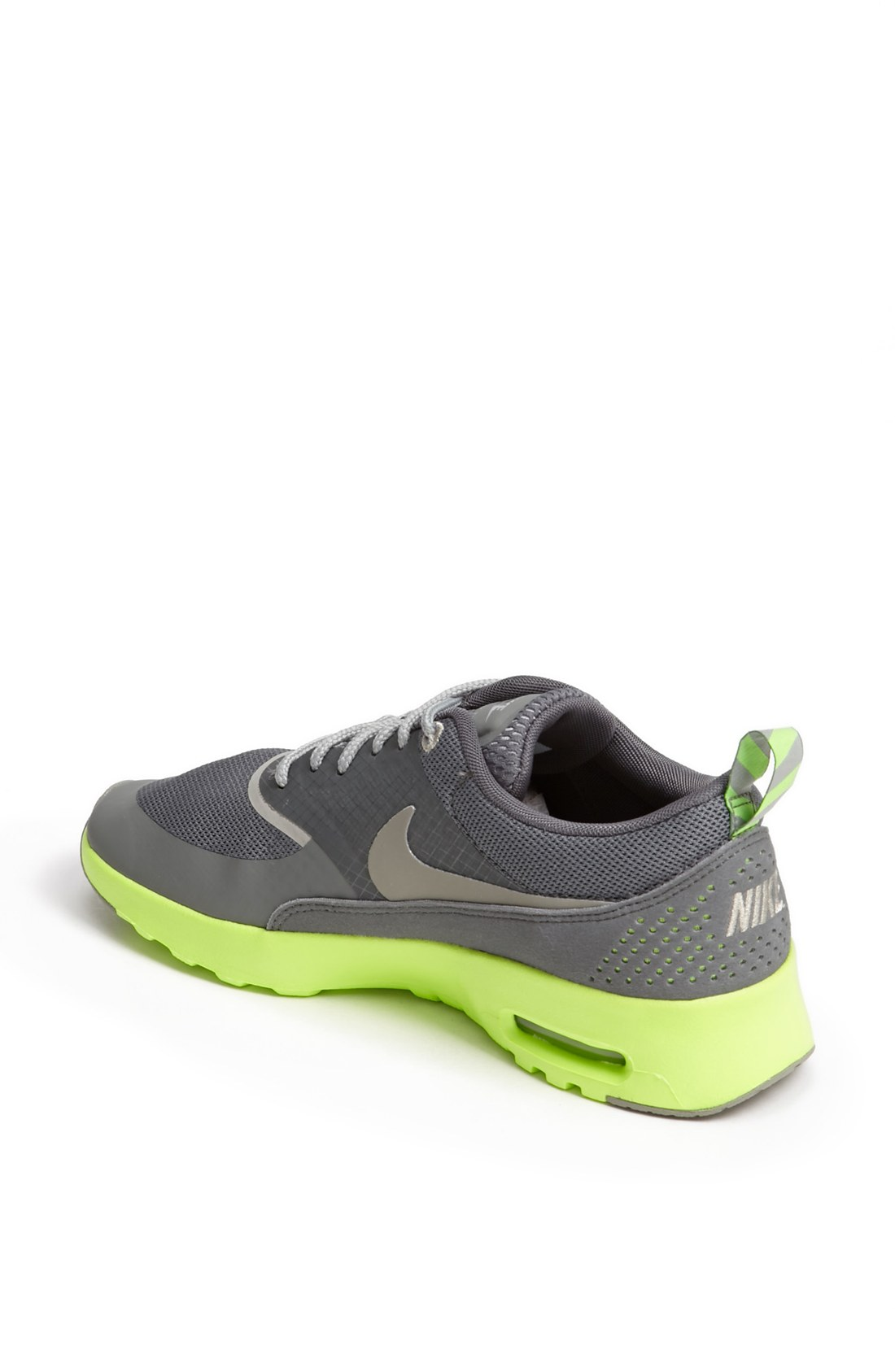 Nike Air Max Thea Sneaker in Yellow (Mercury Grey/ Flash Lime) | Lyst