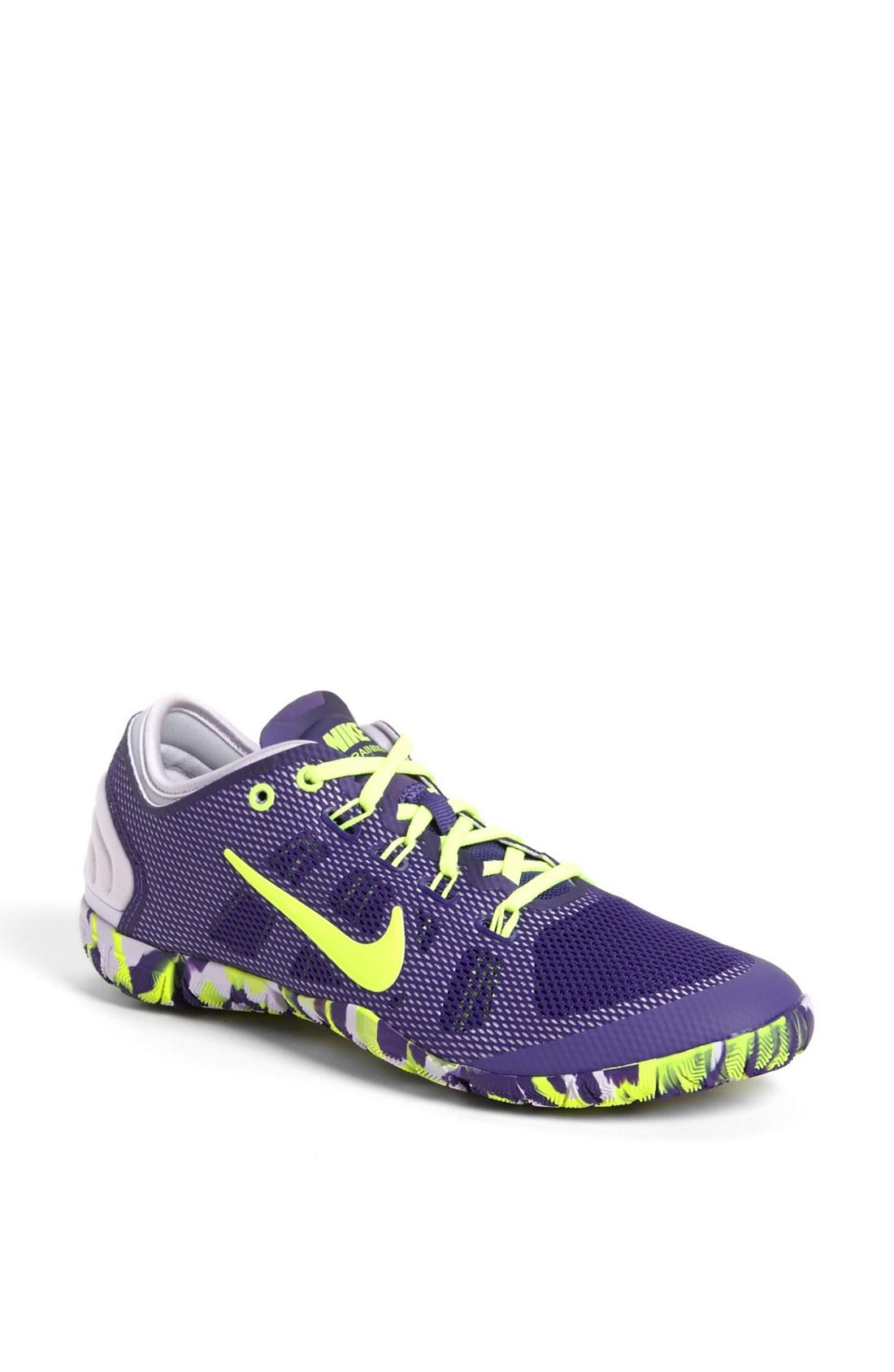 Nike Free Bionic Training Shoe in Purple (Purple/ Frost ...