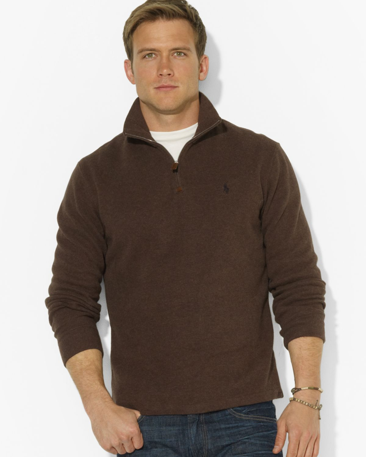 gant half zip sweater bronze cardigan. Black Bedroom Furniture Sets. Home Design Ideas