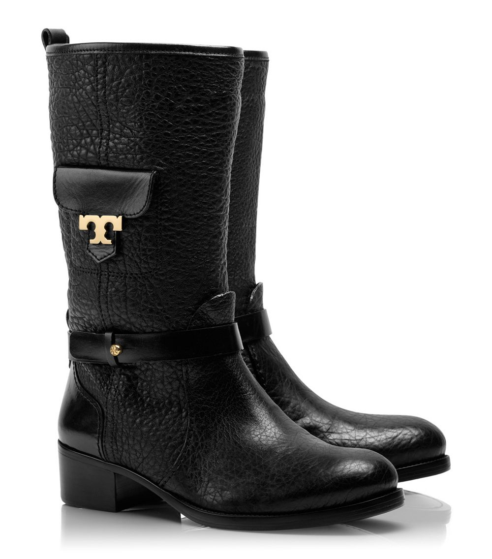 Tory Burch Leona Boot In Black Lyst