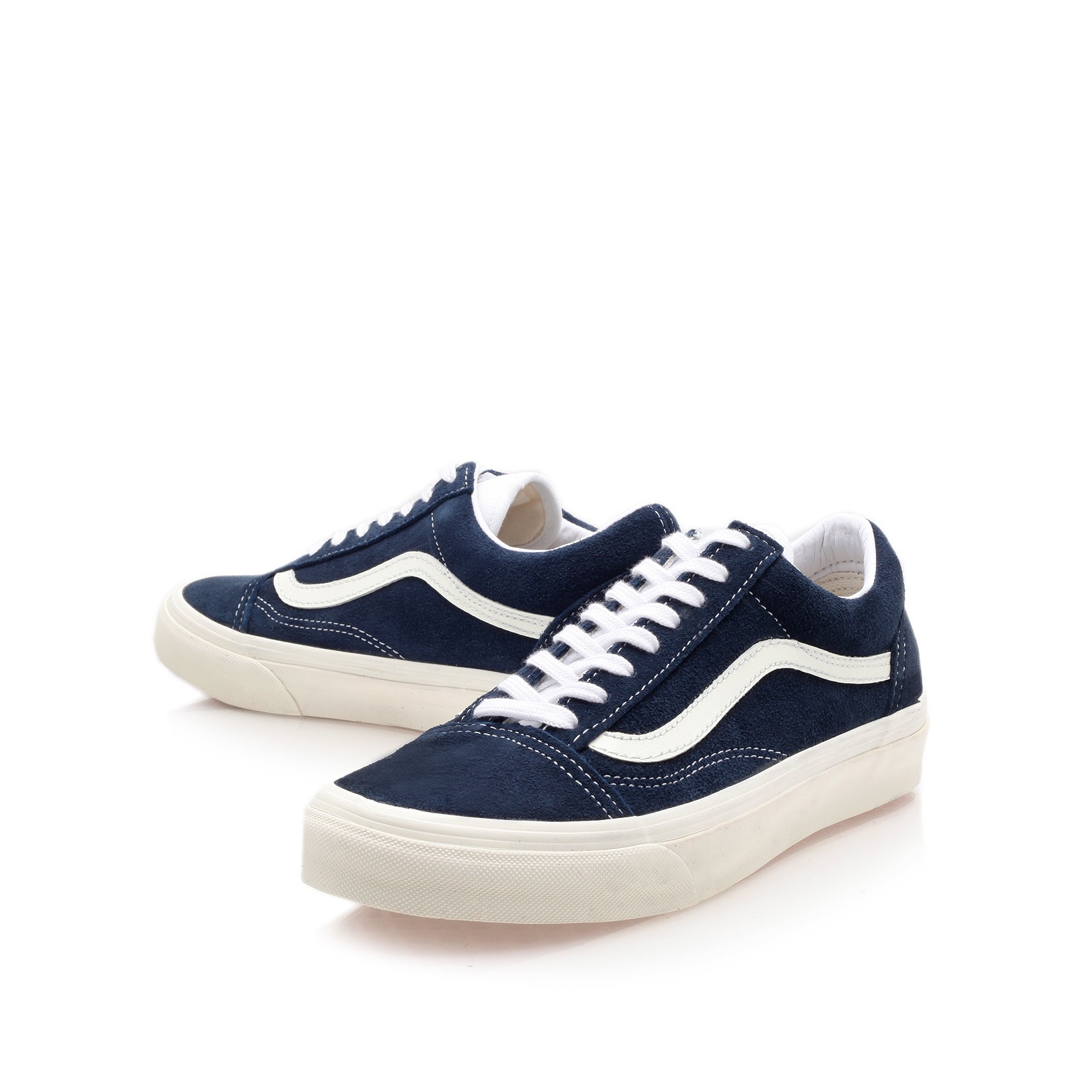 vans old skool in blue for men blue suede lyst. Black Bedroom Furniture Sets. Home Design Ideas