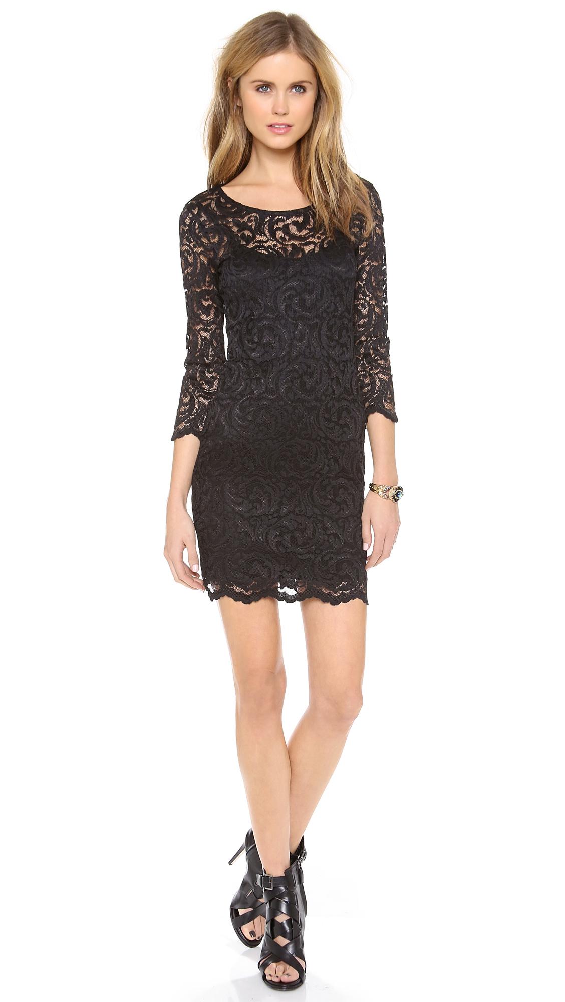 Black Trapeze Dress