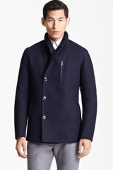 Zegna Sport Shawl Collar Coat - Lyst