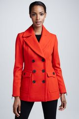 BCBGMAXAZRIA Pocketdetail Trench Coat - Lyst