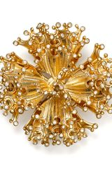 Carolee Abstract Flower Pin - Lyst