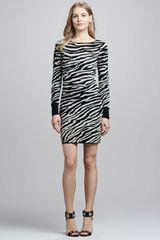 Diane Von Furstenberg Evana Gold Animalprint Dress - Lyst