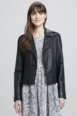 Joie Caldine Leather Motorcycle Jacket - Lyst