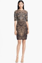 M Missoni Lizard Jacquard Dress - Lyst