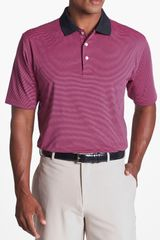 Peter Millar Moisture Wicking Polo - Lyst