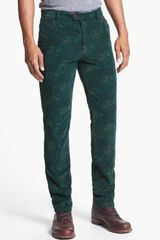 Scotch & Soda Slim Fit Corduroy Pants - Lyst