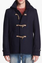 Scotch & Soda Hooded Coat - Lyst