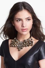 Tasha Dripping Gems Collar Necklace - Lyst