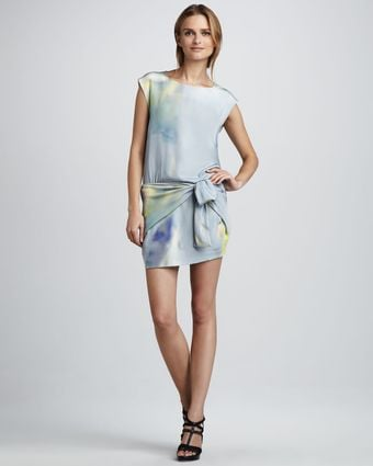 Theyskens' Theory Dinta Watercolor Dress - Lyst