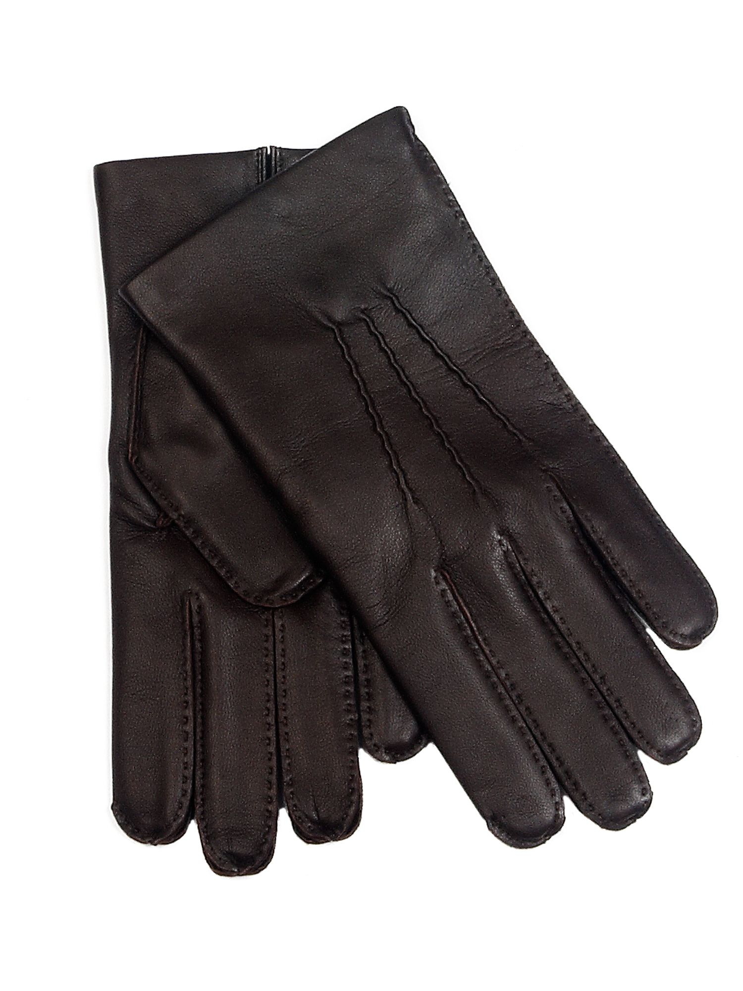 Black leather gloves on sale - Gallery