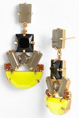 Kate Spade Mod Money Chandelier Earrings - Lyst
