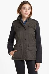 Laundry By Shelli Segal Twotone Anorak Jacket - Lyst