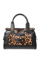 Pierre Hardy Leather and Calf Hair Tote - Lyst