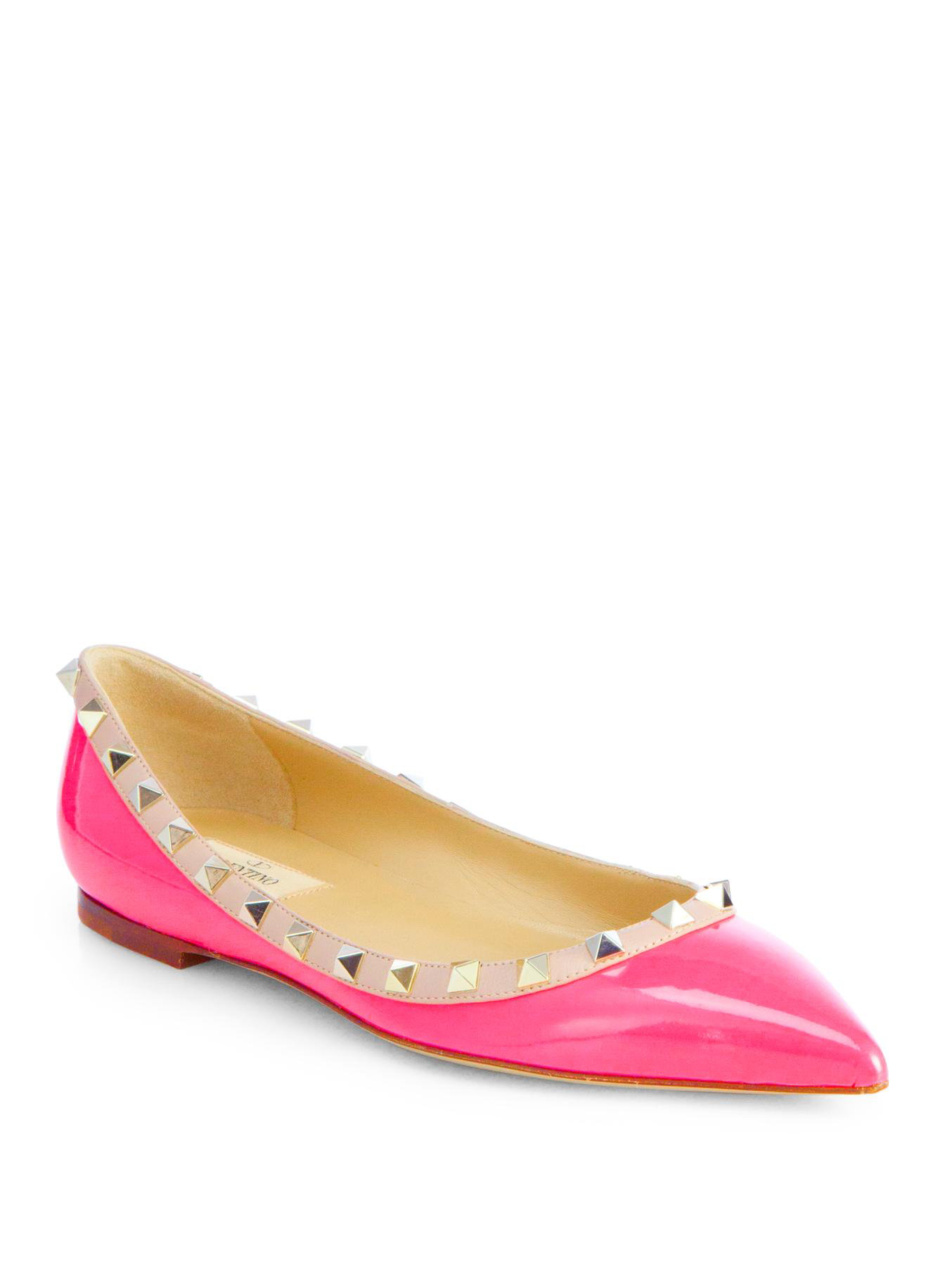 Hot Pink Patent Leather Shoes