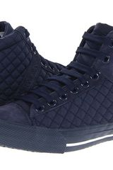 Armani Jeans High Top Sneaker - Lyst