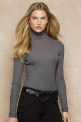 Blue Label Ribbed Turtle-neck - Lyst