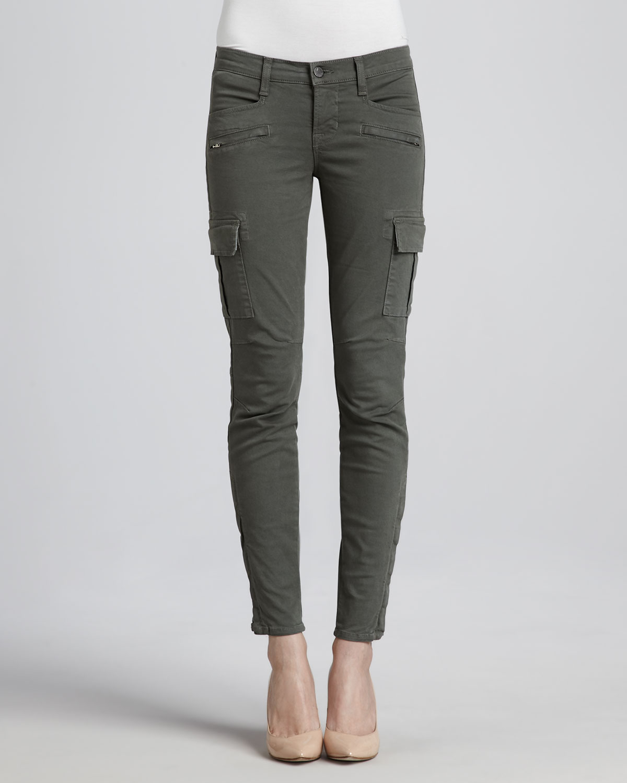 J brand Grayson Skinny Cargo Pants Olive in Green | Lyst