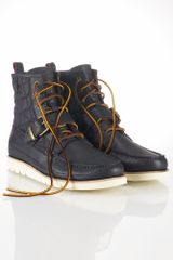 Polo Ralph Lauren Saddleworth Leather Boot - Lyst