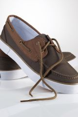 Polo Ralph Lauren Lander Canvas Boat Shoe - Lyst