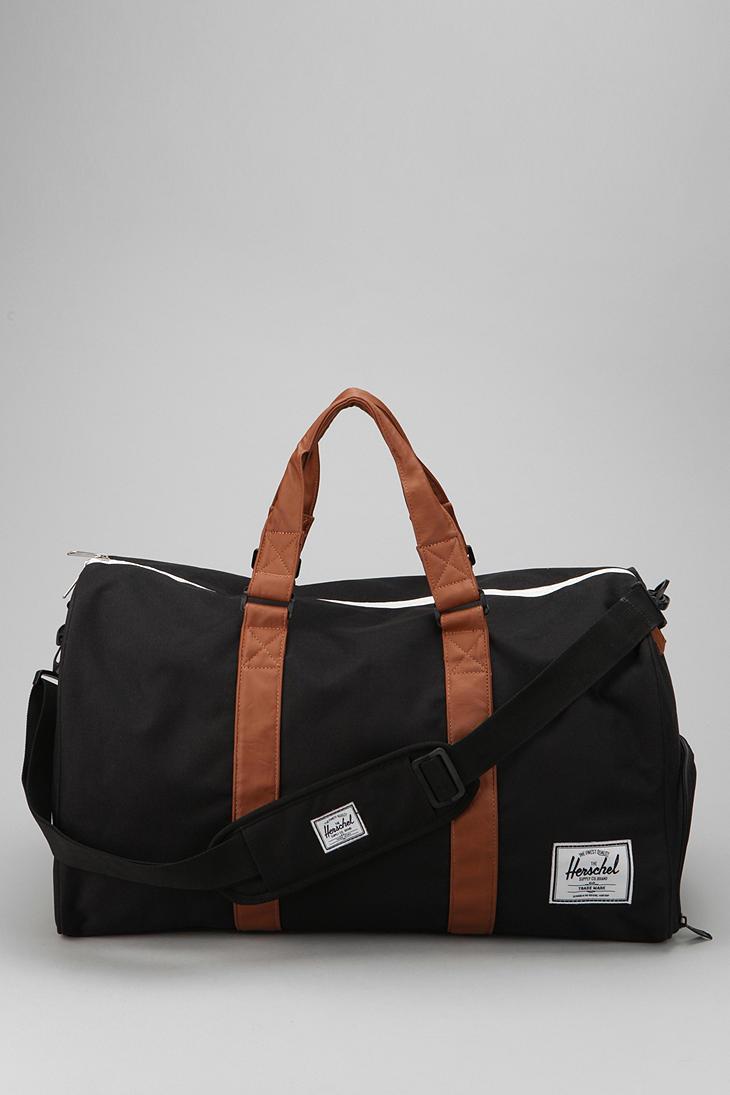 Herschel Supply Co Novel Weekender Duffel Bag In Black