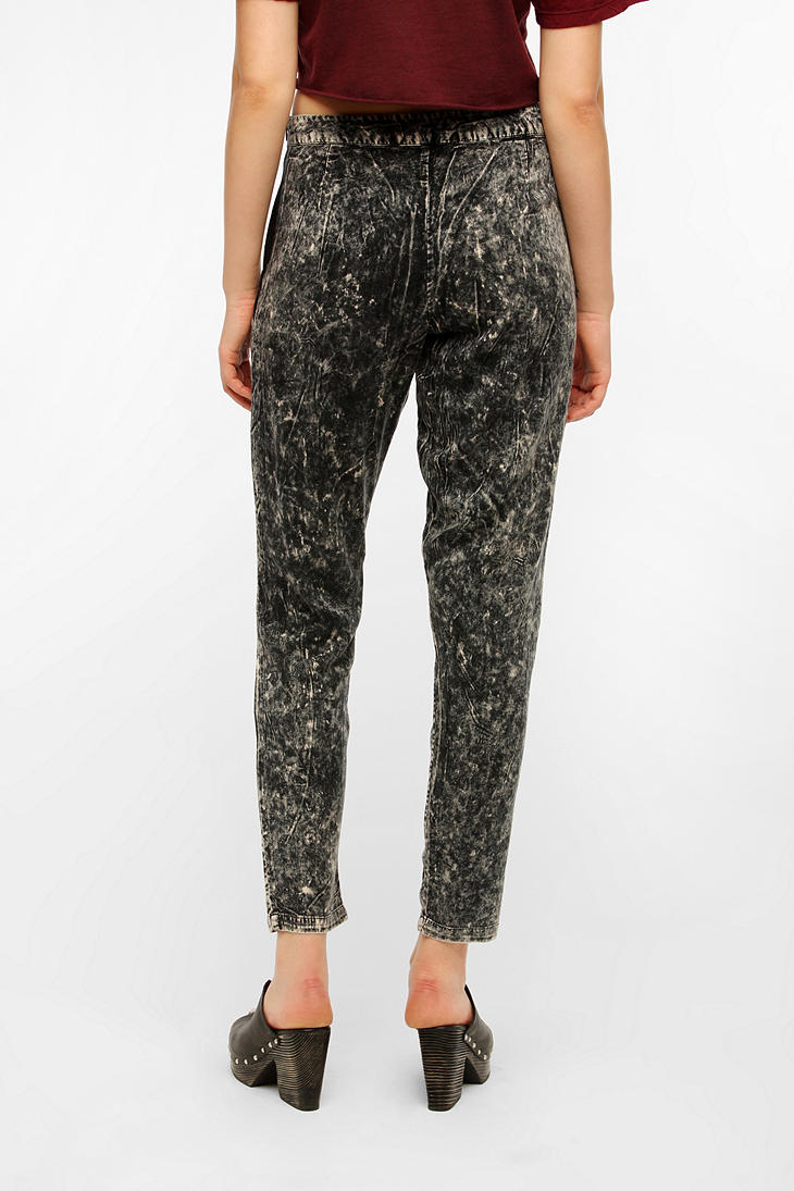 Lyst Urban Outfitters Bycorpus Acidwash Soft Woven Pants
