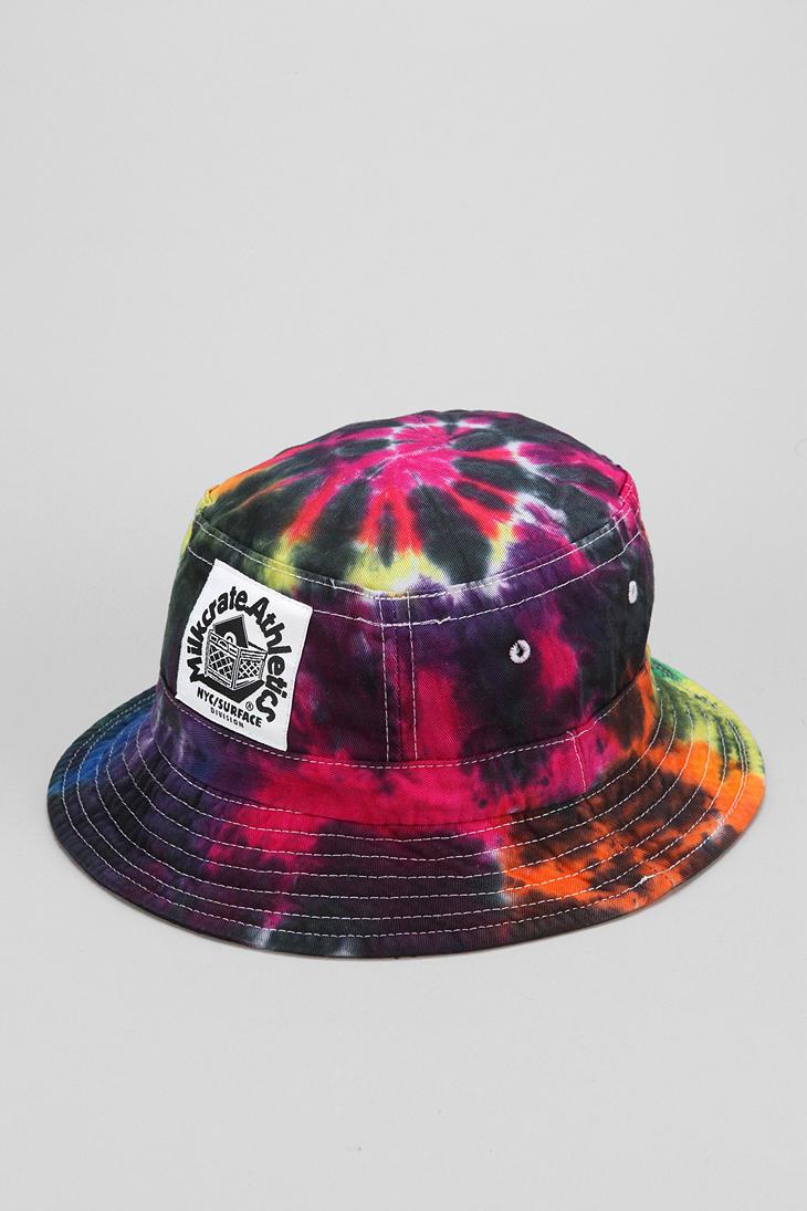 Lyst - Urban Outfitters Milkcrate Athletics Tiedye Bucket Hat for Men edd592a30dc0