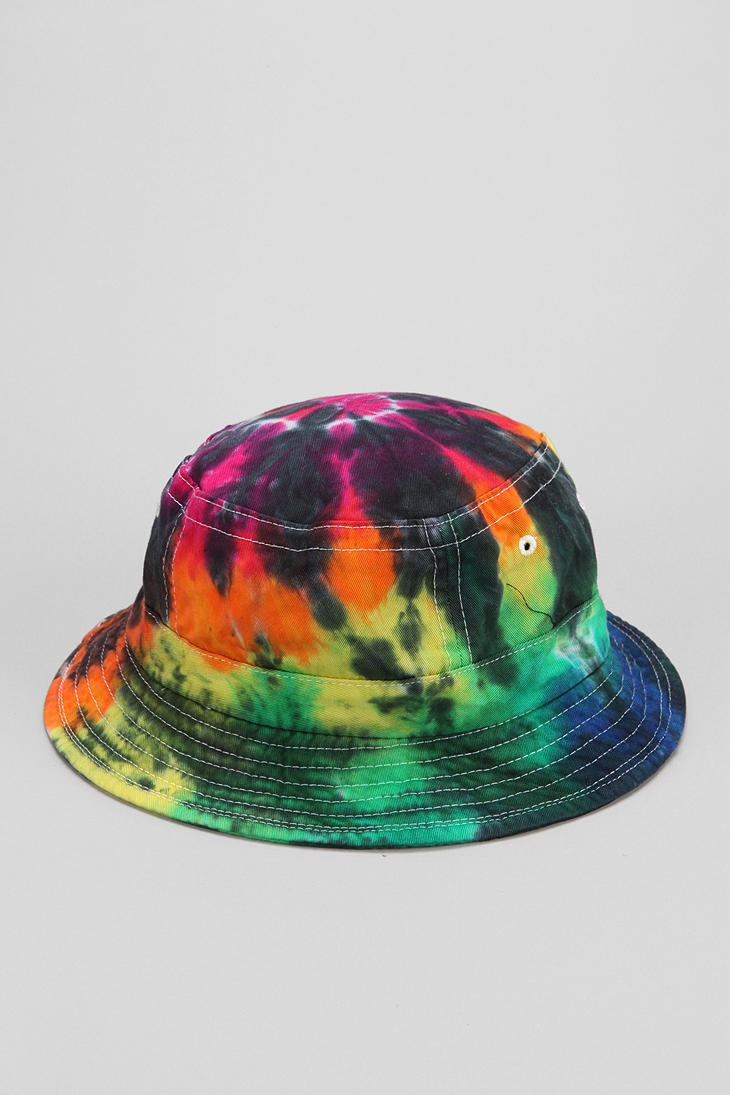 Lyst - Urban Outfitters Milkcrate Athletics Tiedye Bucket Hat for Men 6c1aa498b31