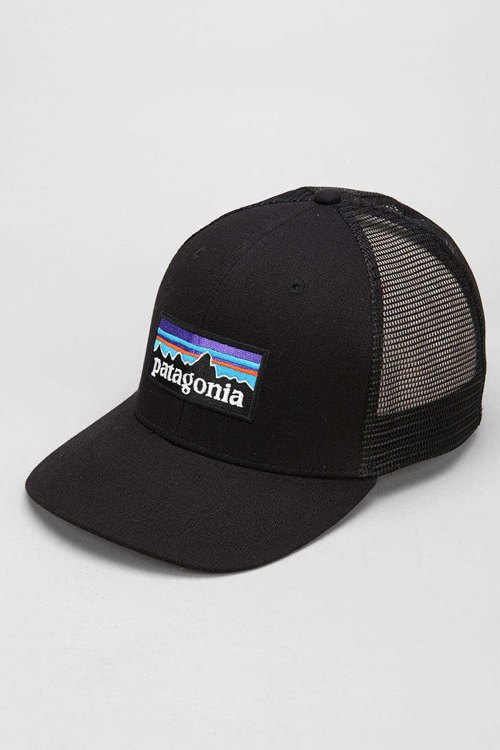 89b2ad0c1ab Lyst - Patagonia Trucker Hat in Black for Men