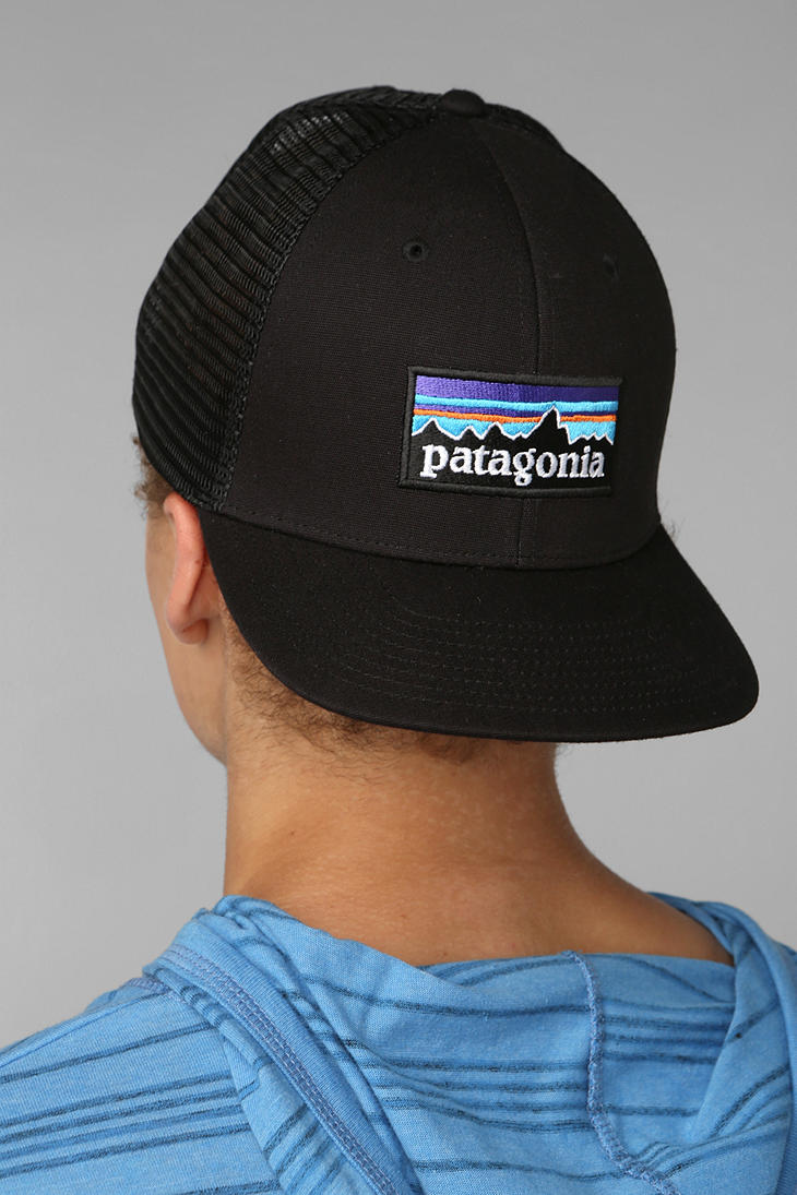 Lyst - Patagonia Trucker Hat in Black for Men ee79a07aaa4